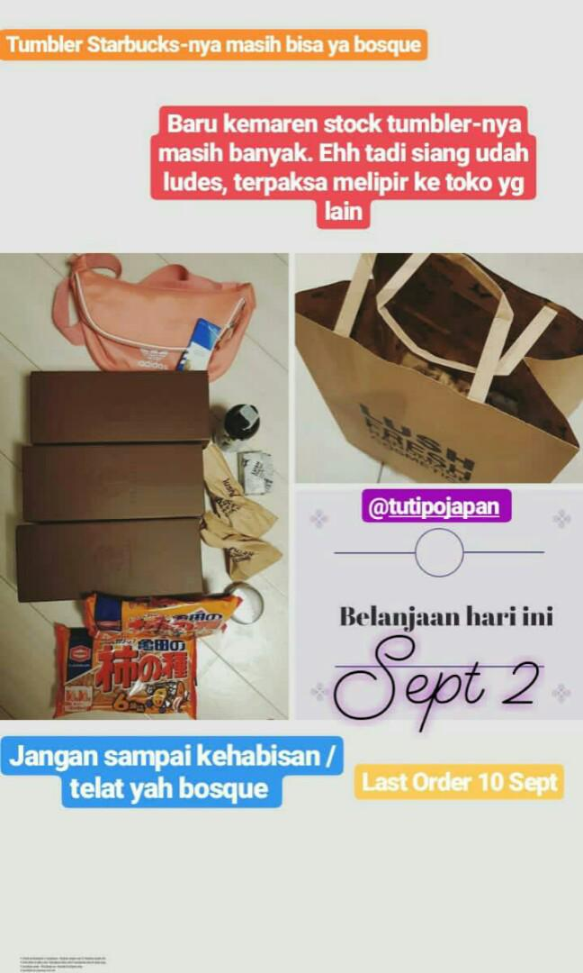 [PO Japan Ready 15 Sept] TRUSTED, IG: @tutipojapan