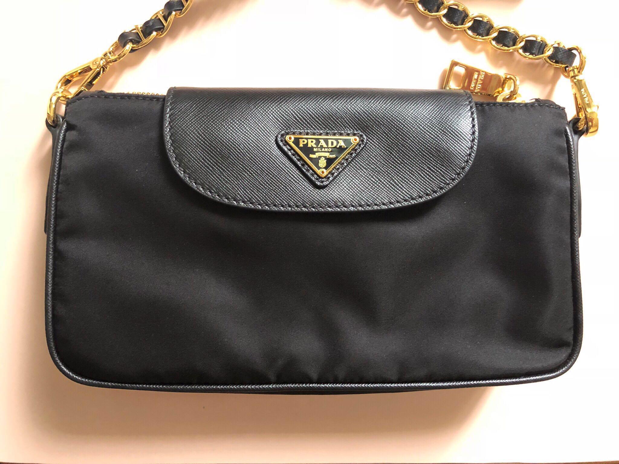 0e5b094ddd4 Prada Tessuto Saffiano Crossbody BT0779, Women's Fashion, Bags ...