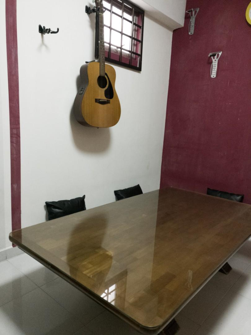 PREMIUM Low Wooden Table