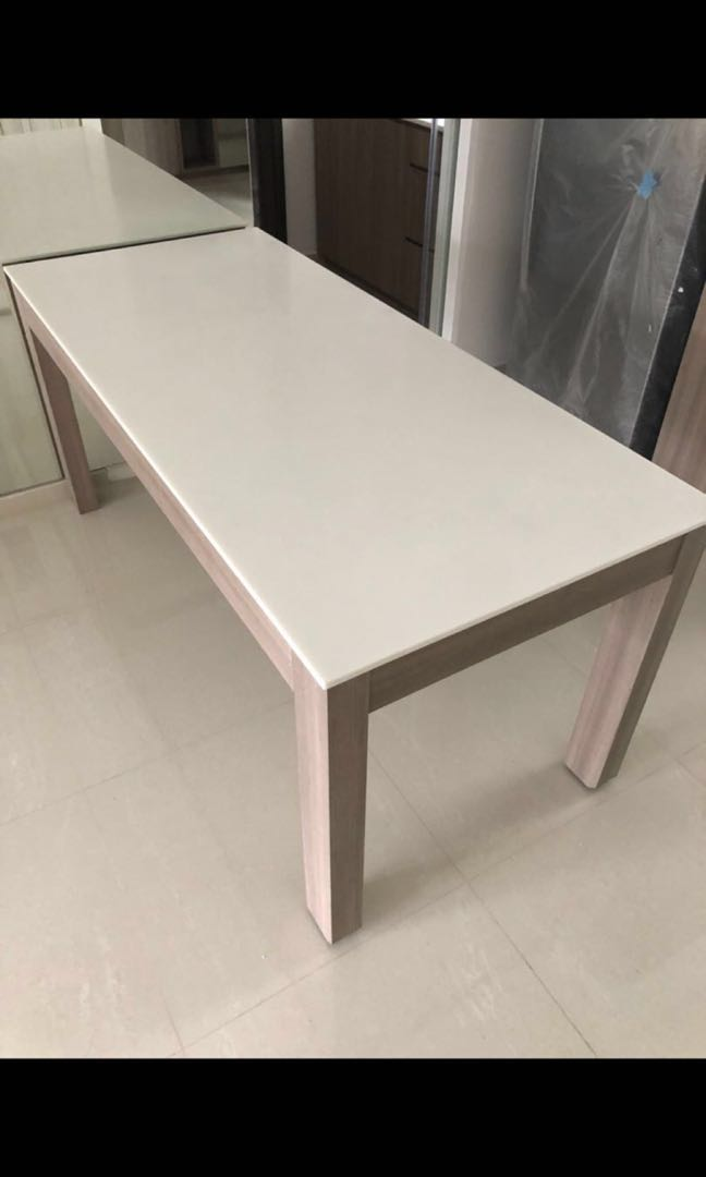 Quartz Dining Table Furniture Tables Chairs On Carousell