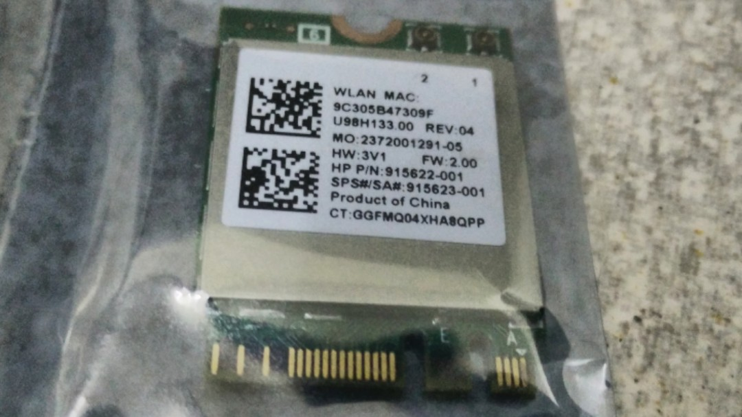 Realtek RTL8822BE WiFi AC + Bluetooth laptop module