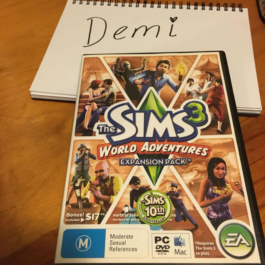 Sims 3 Wold Adventures expansion pack