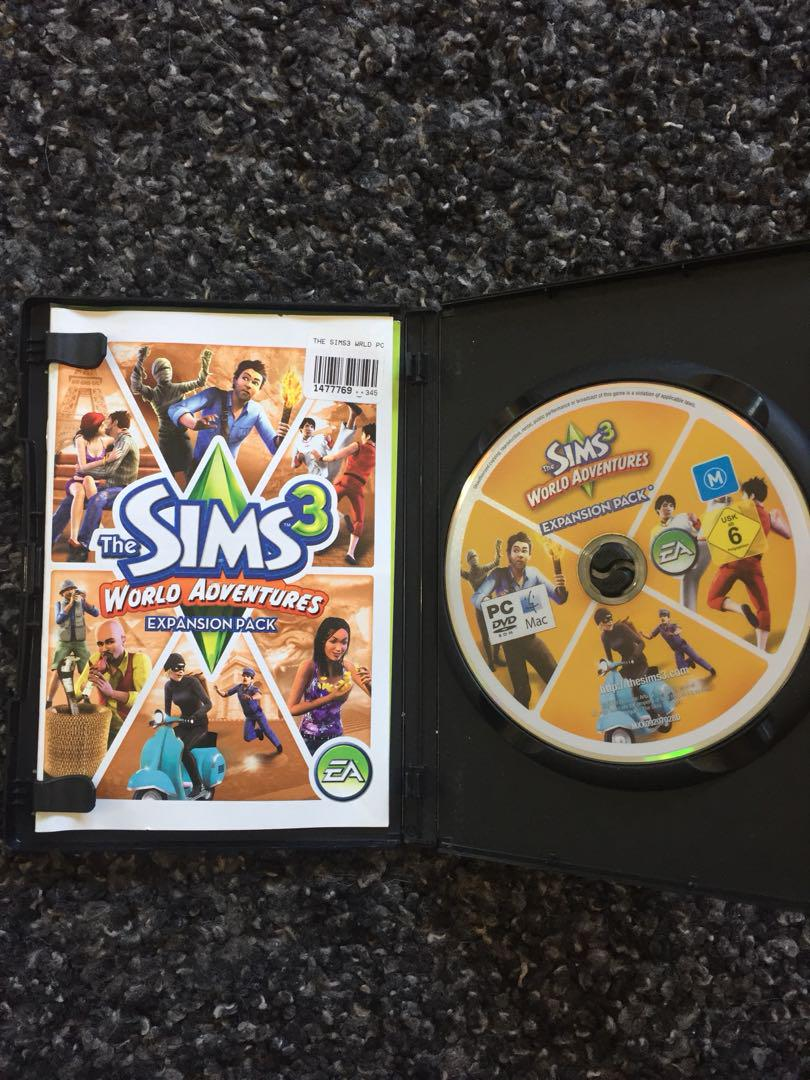 Sims 3 World Adventures Expansion Pack