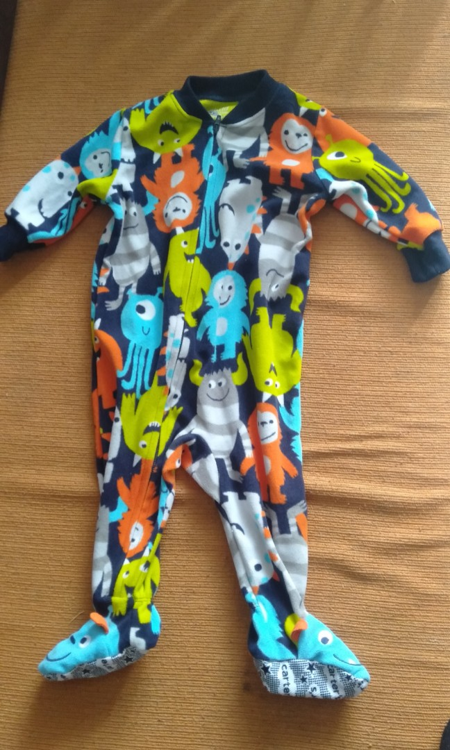 11433e688 Sleepsuit carter