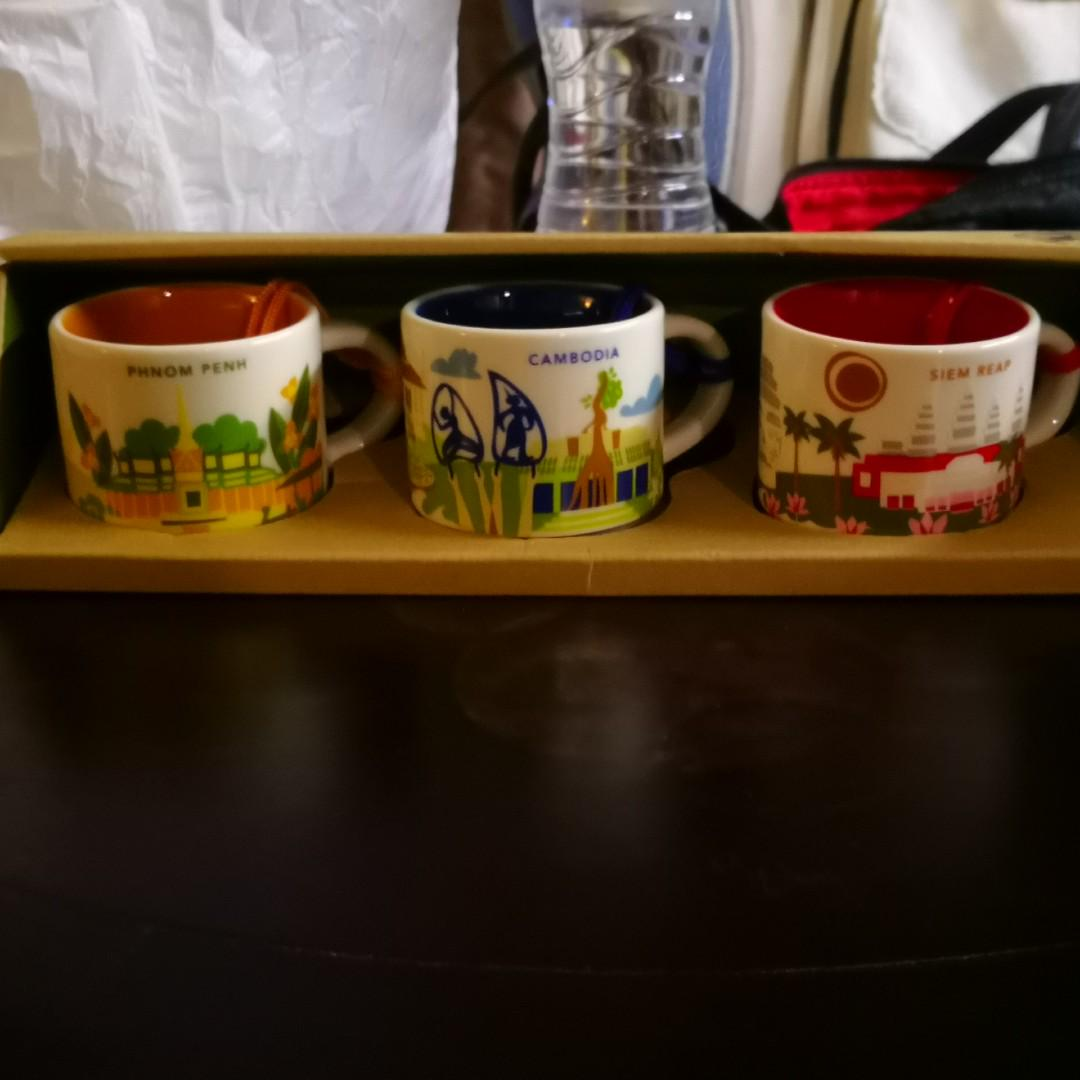 Mugs Are Of Collection On Mini You Cambodia Starbucks Here Carousell PuZkiOXTw