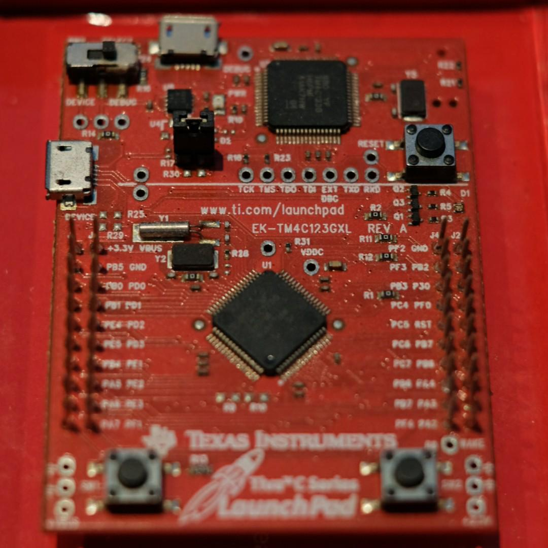 Tiva C Series TM4C123G LaunchPad Evaluation Kit (for