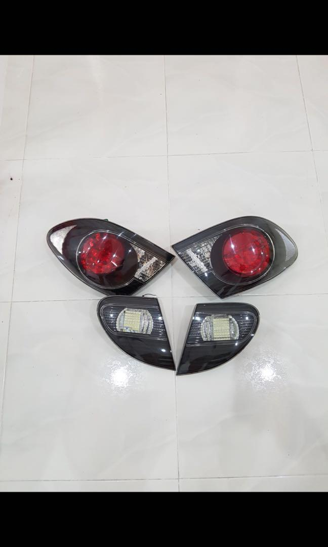 Toyota Altis G9 Black base Taillight