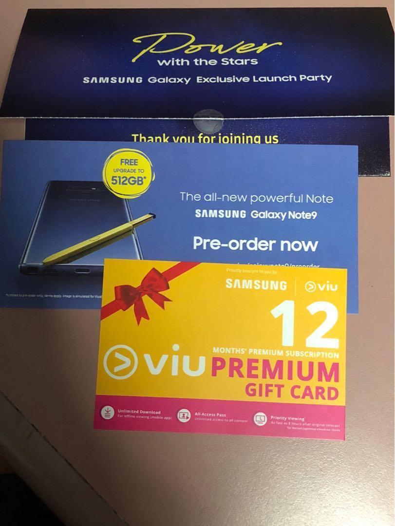 Viu (Premium) 12months free ( PRICE REDUCED)