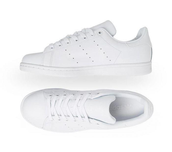 WHITE STAN SMITH ADIDAS SHOES WOMEN