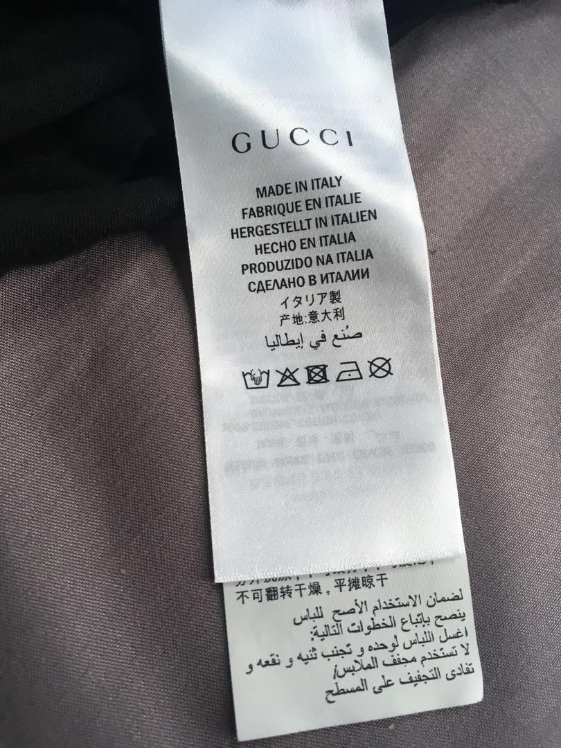 92f5406f1531 WTS/WTT Gucci Washed/Belt logo tee, Men's Fashion, Clothes, Tops on  Carousell