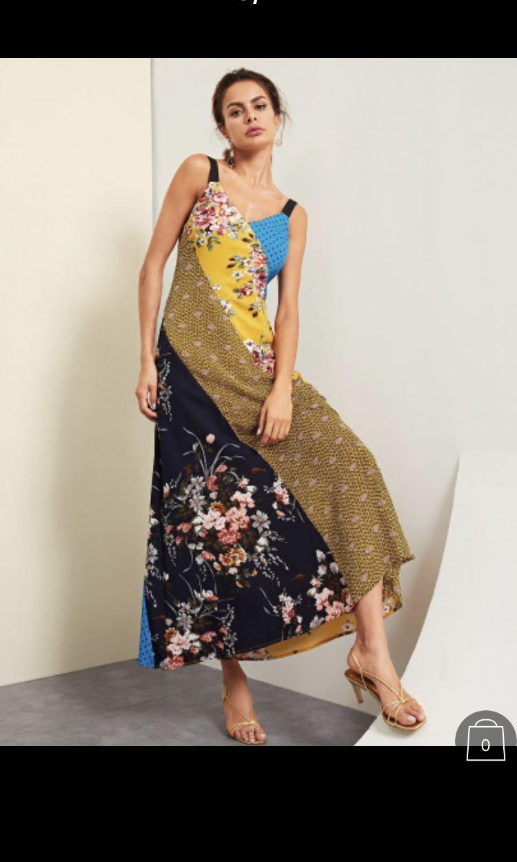 1aa3ee96e1ad Zara inspired maxi dress