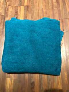 🚚 藍色圍巾