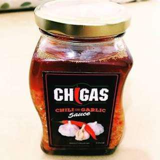 Chigas chili and garlic sauce