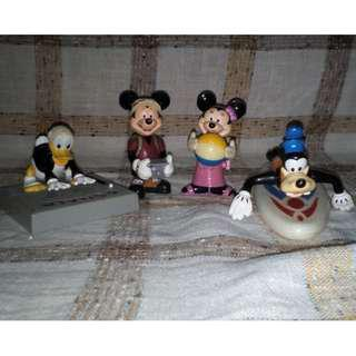McDonald's Happy Meal Donald Duck Mickey Mouse Minnie Mouse and Goofy Set
