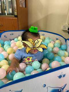 Blessing ball pit