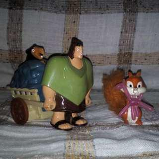 McDonald's Happy Meal The Emperor's New Groove Set