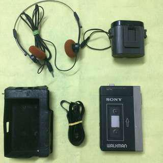 Vintage 80's Sony Walkman WM-3 TPS-L2