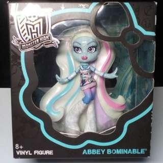 MONSTER HIGH Wave 3 Abbey Bominable Vinyl figure