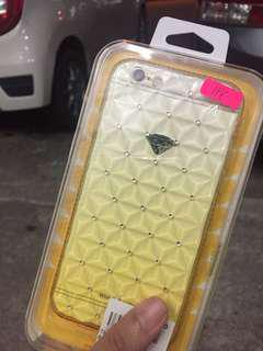 Iphone 6 Plastic cover with diamonds