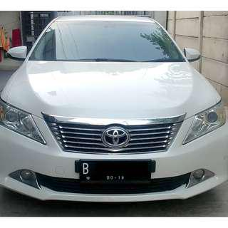 Toyota Camry 2014 2.5 V AT 2013 Putih (Bkn G Hitam) - Pjk 09-2019