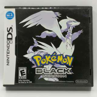 NDS Pokemon Black USA Ver. 美版