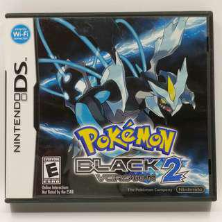 NDS Pokemon Black 2 USA Ver.  美版
