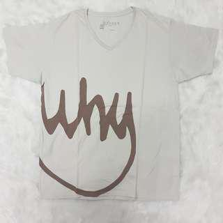 Oxygen Why Gray T-shirt Slim Fit Tee