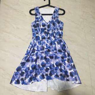 gg5 abstract print dress