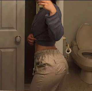 TNA linen pants