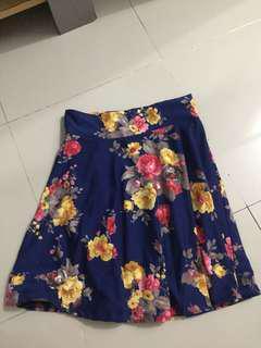 rok bunga detail bagus banget