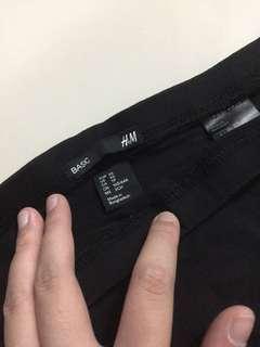h&m rok span hitam