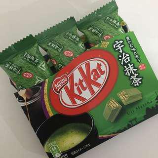 Kit kat Green tea Made in Japan isi 3pcs