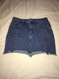Forever 21 denim skirt size M