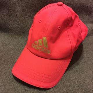 🚚 Adidas 愛迪達 燙金 桃色 鴨舌帽 棒球帽*購於門市正貨