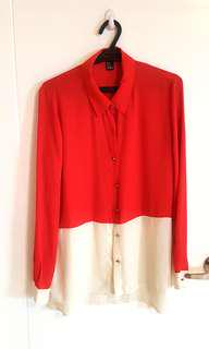 Forever 21 - 2 Toned Top (M)