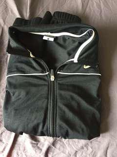 nike zip-up sweater