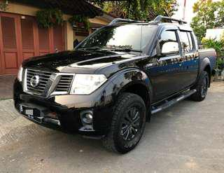 Nissan Navara Sports Version 4x4 Turbo Diesel 2.500cc Double Cabin Tahun 2012 AT Hitam