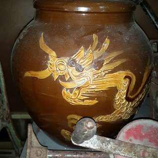 Dragon lobak asin