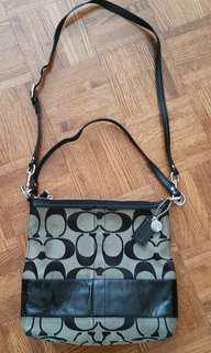 Authentic COACH crossbody bag purse
