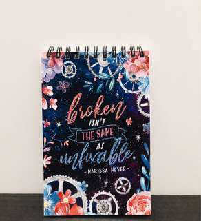 FlickTheWick The Lunar Chronicles Notebook