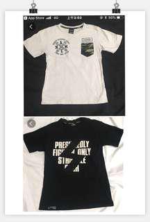 (Tree t-shirt)迷彩口袋設計短袖+ STRUGGLE短袖+星巴克短袖