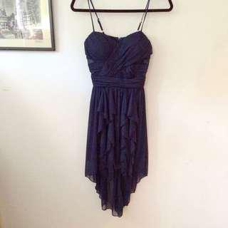 Almost New Deep Blue Dress