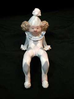 Lladro porcelain 陶瓷公仔 小丑