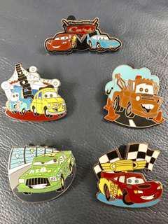 2009 Disney Cars Pin 反斗車王