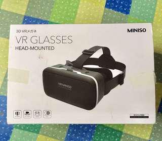 3D VR Glasses - Head Mounted (Miniso)