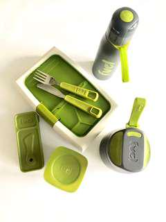 Fuel lunch bento box and accessory containers