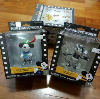 CHEAP AUTHENTIC! BNIB DISNEY Mickey Mouse Figurines