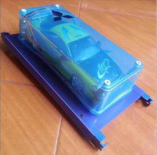 AMT ERTL: 1:18 The Fast And The Furious 1 Brian's 1995 Mitsubishi Eclipse. Where it all begins for Paul Walker Brian ^_*v