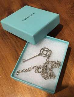 TODAY ONLY - Tiffany & Co Atlas key + chain