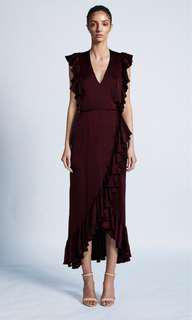 Shona Joy Wrap Dress - Size 12